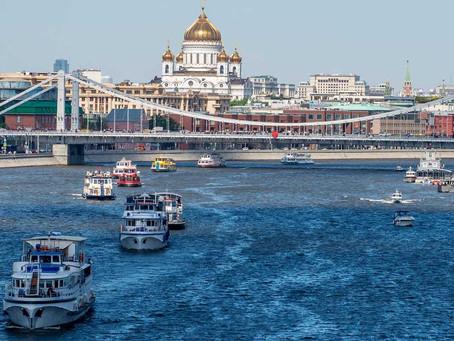 В Москве состоится парад судов, посвященный открытию навигации