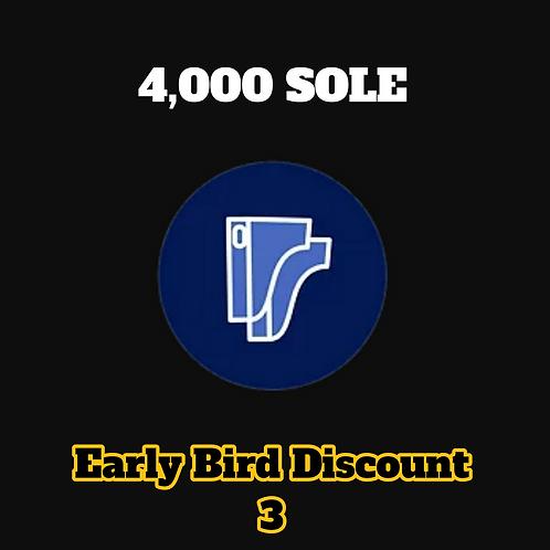 4,000 SOLE Credits