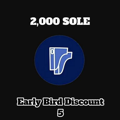 2,000 SOLE Credits