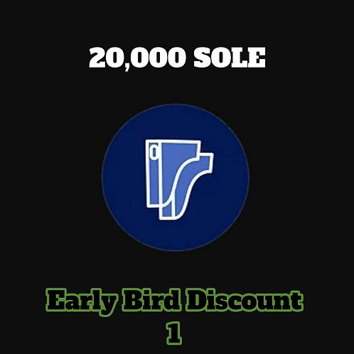 20,000 SOLE Credits