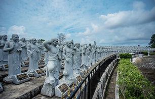 Patung 1000 Buddha Lohan
