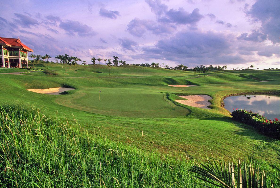 Golfing at Bintan