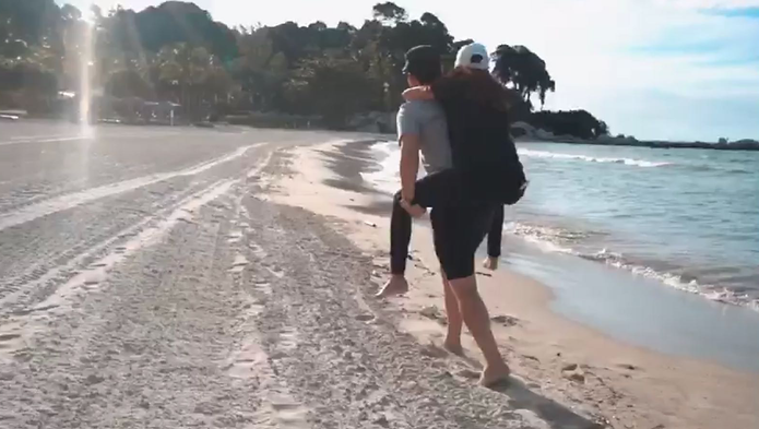 JI Bintan Romantic Escape ~ On the beach
