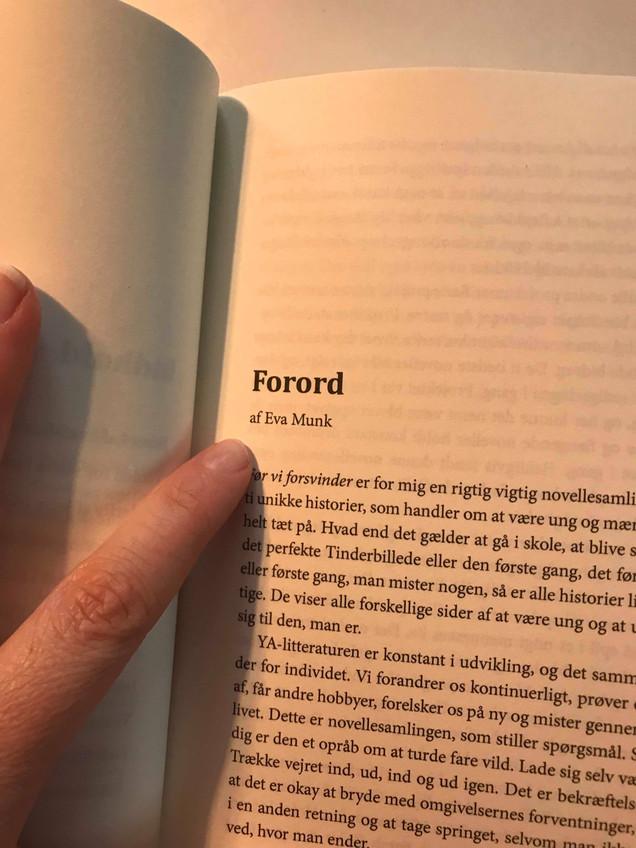 Forord skrevet til FØR VI FORSVINDER