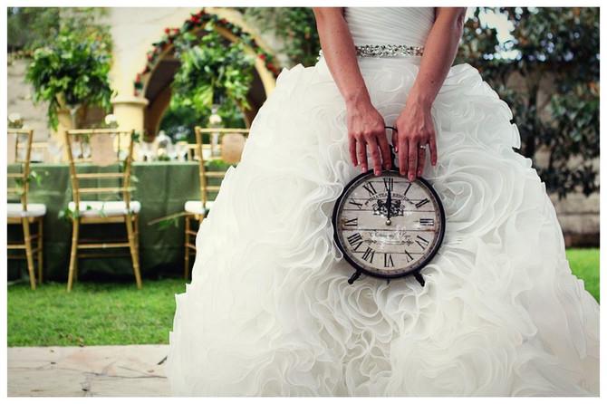 Qual o tempo ideal de uma cerimônia de casamento?