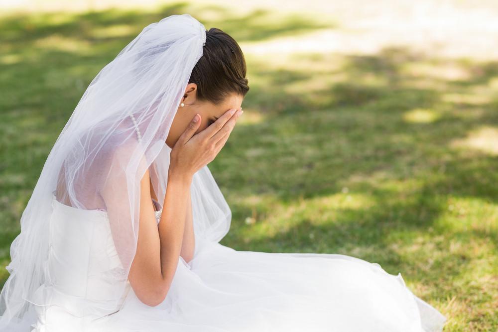 Noiva triste