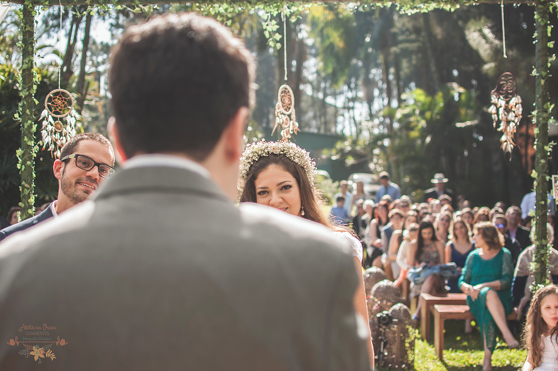 Nadine e Carlos casamento