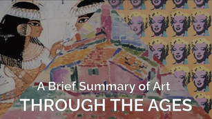 Art History Timeline - A Guide for Teachers