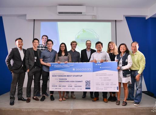 SSW Yangon Best StartUp Award
