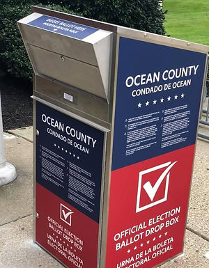 VOTE BY MAIL ASSISTANCE IS AVAILABLE TO OCEAN COUNTY VOTERS