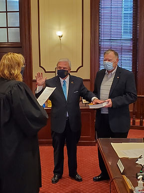 OCEAN COUNTY CLERK SCOTT M. COLABELLA'S SWEARING IN