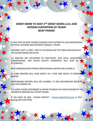 Jersey Shore to Host 2nd Trump Boat Parade
