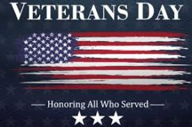 REMEMBERING THOSE WHO SERVED ON VETERANS DAY NOV. 11