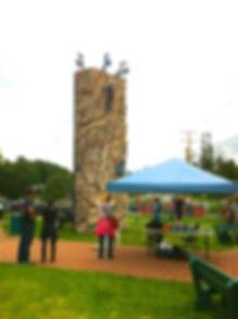 Pour des événements comme la St-Jean, la Fête du Canada, les fêtes de la famille. La tour est souvent un attrait important pour un événement.