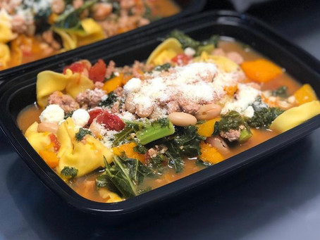 Turkey, Kale & Butternut Squash Soup