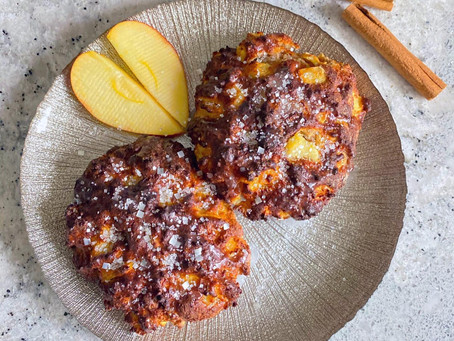 Protein Apple Fritters