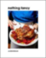 cook book food manicure recipes blue shirt alison roman