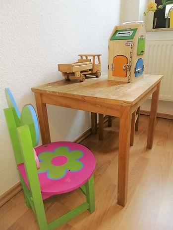 Kinderspielecke Naturheilpraxis Linda Reinholz