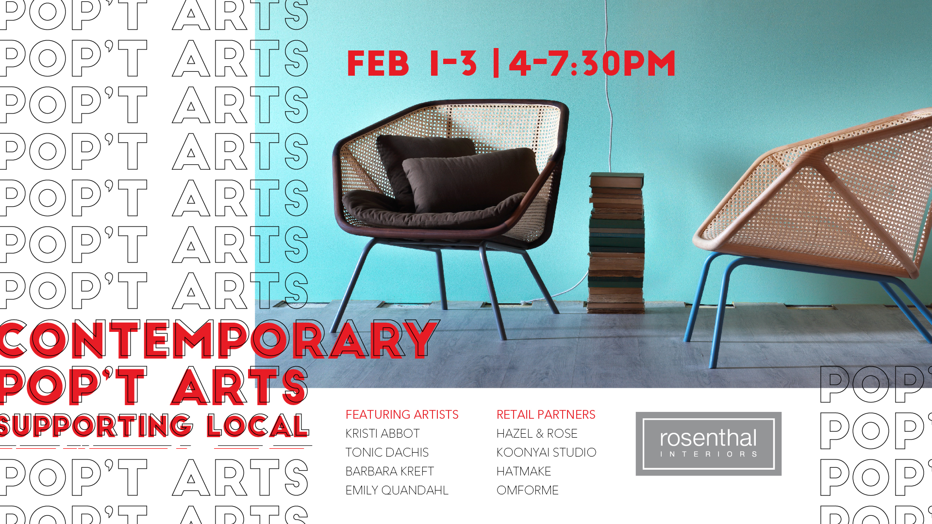 Contemporary Popu0027t Arts @ Rosenthal Interiors   Supporting Local   Rosenthal  Interiors Modern U0026 Contemporary Furnishings