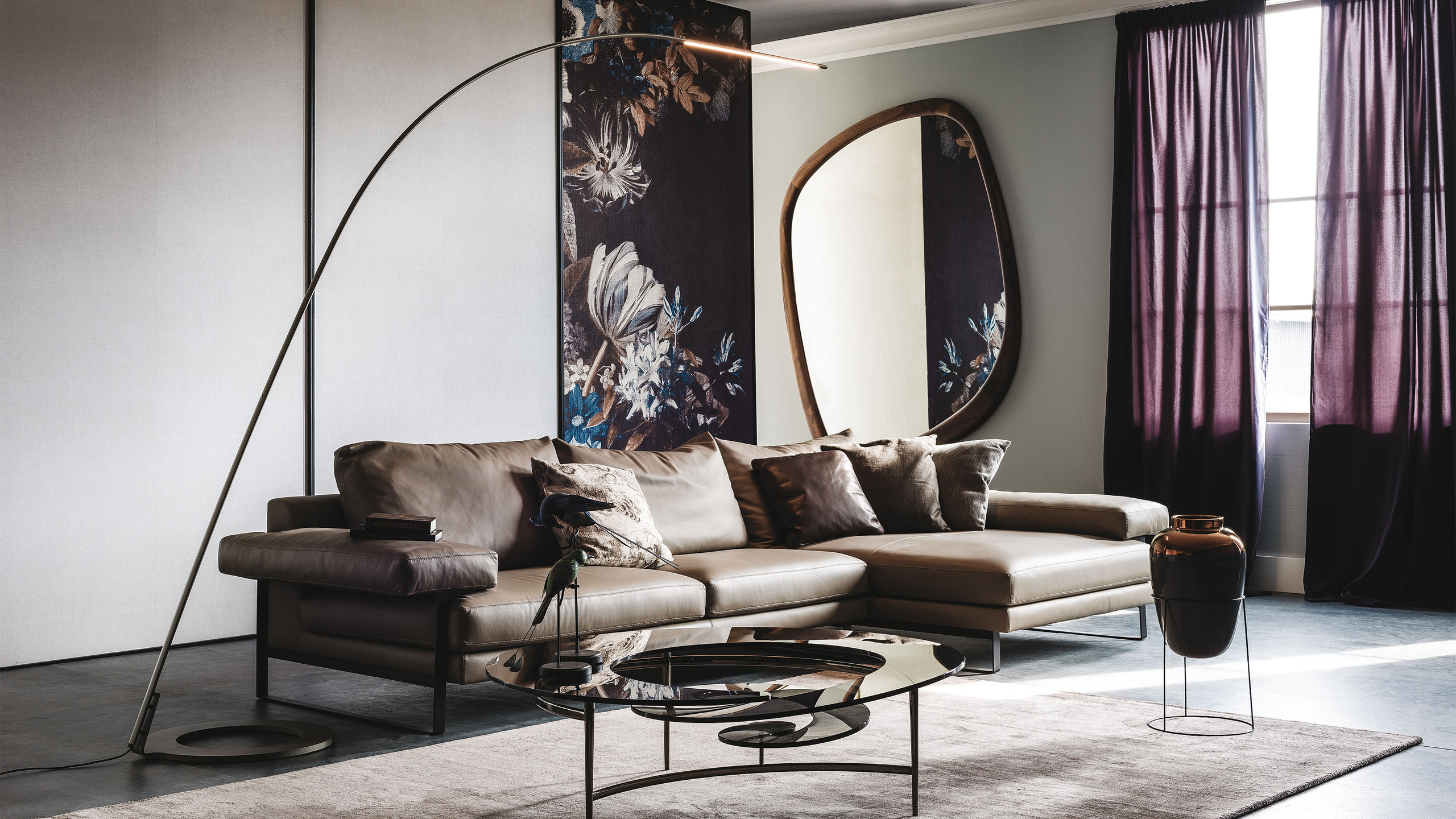 Modern and contemporary designs from Cattelan Italia. Spiral coffee table
