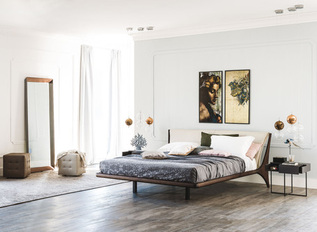 """Say """"hello"""" to the Nelson bed from Cattelan Italia"""