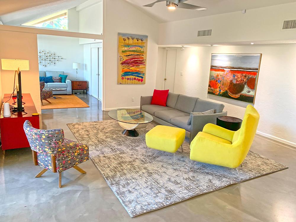 Contemporary interior design furniture