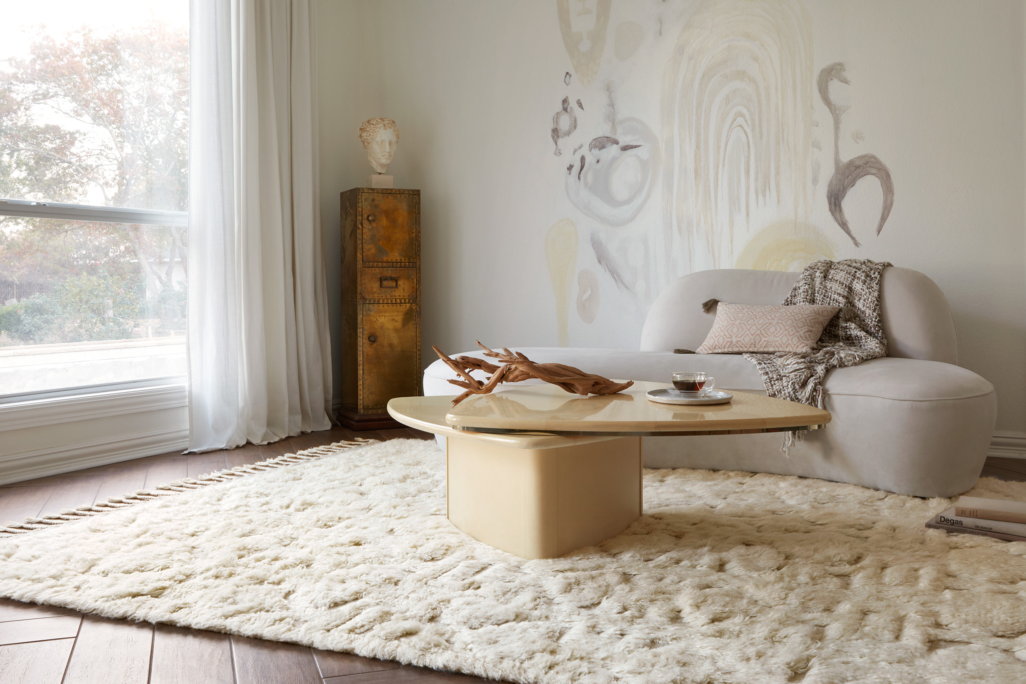 HYGGE collection exclusively at Rosenthal Interiors. 100 hand loomed wool rugs.