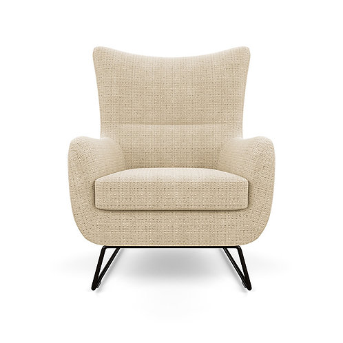 Liam Chair with matching ottoman