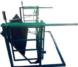 Комбинированный поворотный ветеринарный станок для обрезки копыт, быстрой вакцинации овец и коз.