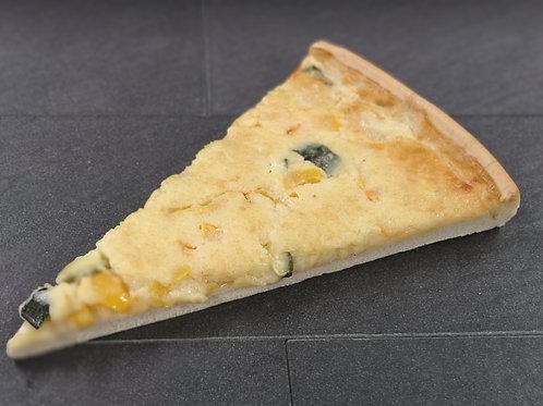 Gersauer Käsekuchen mit Peperoni und Zucchetti
