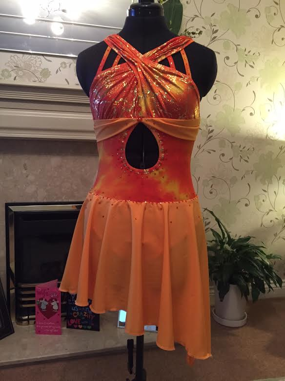 Sunshine dance costume