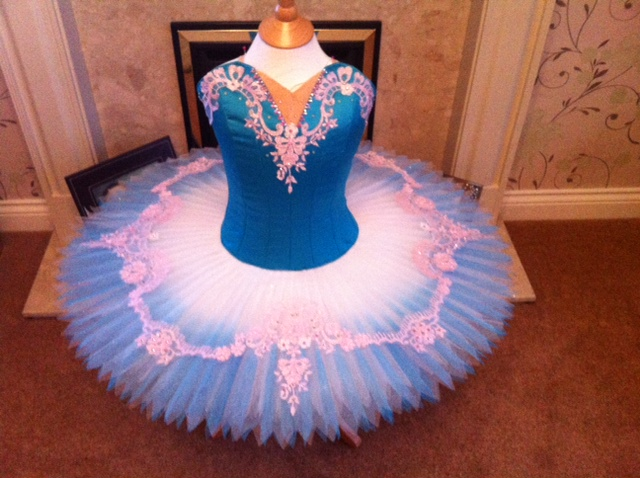 Turquoise and Pink Tutu