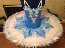 Blue and light blue tutu