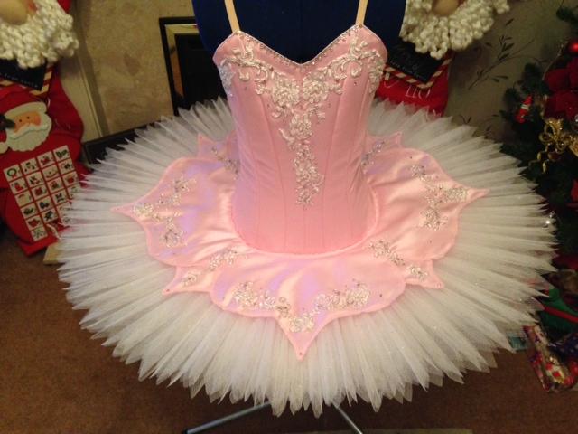 Pink dance tutu