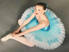 Turquise Ballet Tutu Skirt