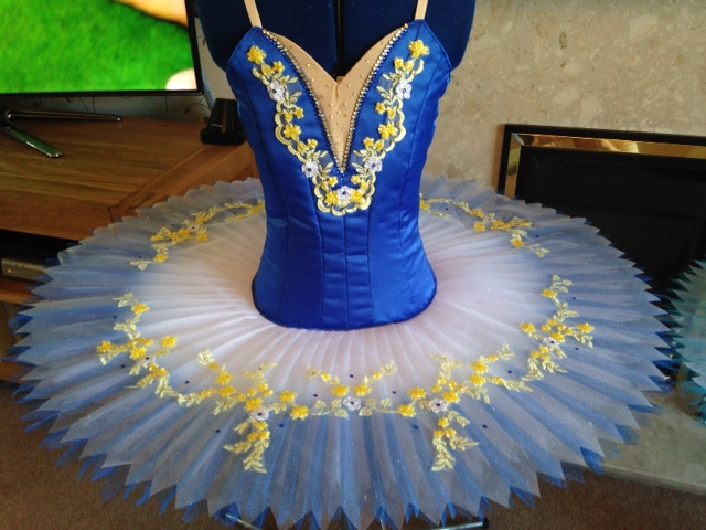 Blue and Yellow tutu