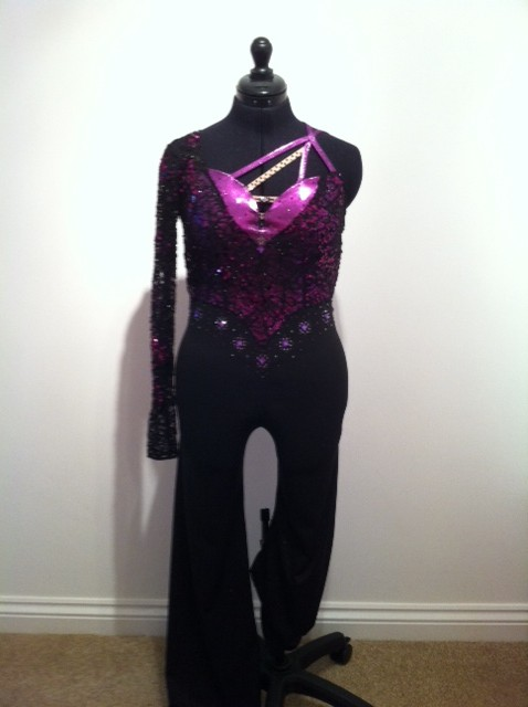 Sparkly Purple Tap Costume