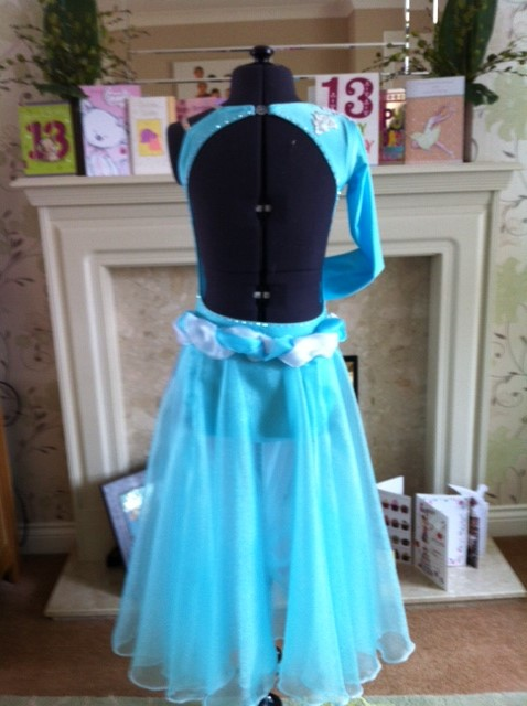 musical comedy dress back