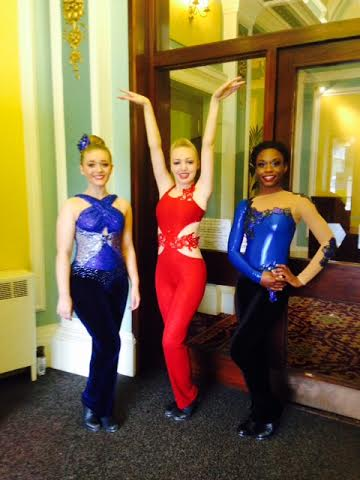 Arabesque Tap costumes