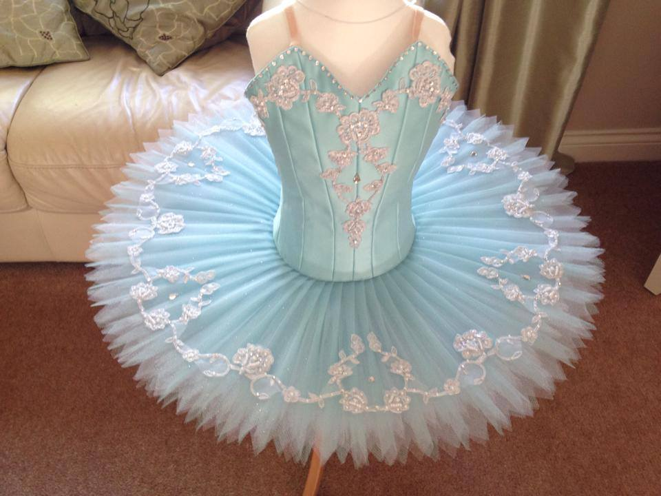 Small light green tutu