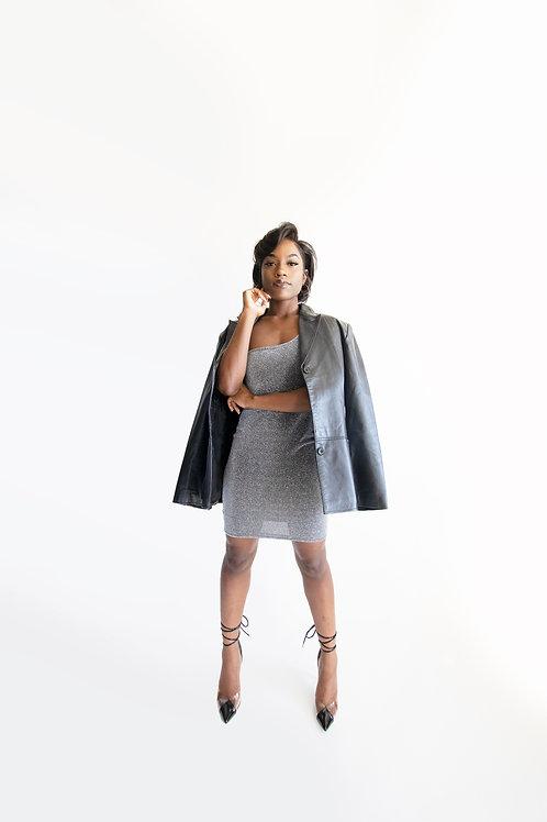 Lorex One shoulder Dress