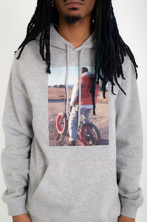 Some where in Wyoming graphic hoodie