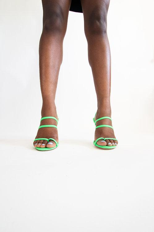 Flip-flop front heels