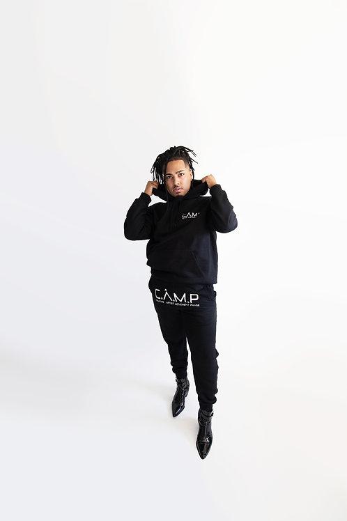 Black C.Â.M.P  hoodie