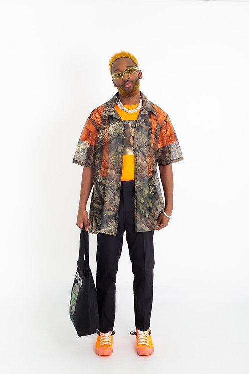 C.Â.M.P Design  Men mesh-net Camouflage shirts