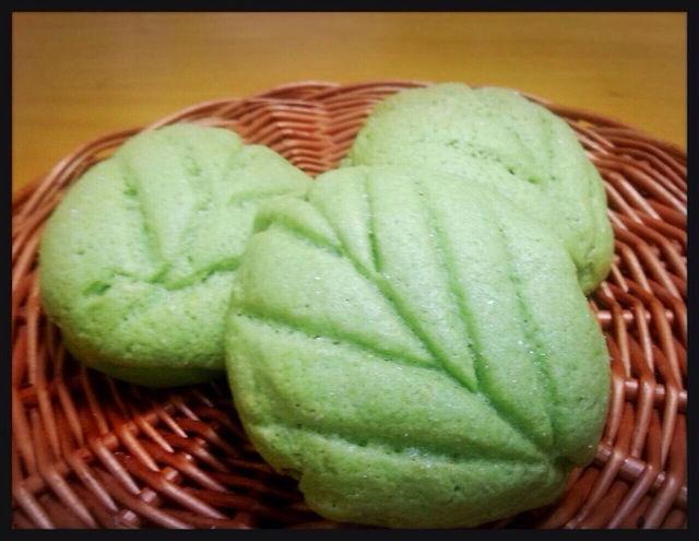 炊飯器で作る きれいなメロンパン