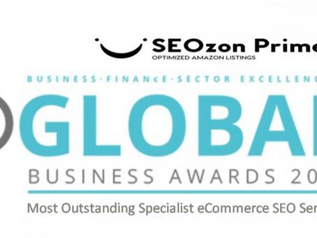 SEOzon Prime wins 2021 Global Business Insight Award