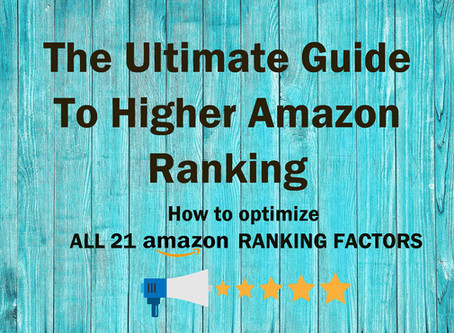 The Ultimate Guide To Higher Amazon Ranking