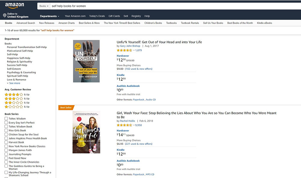 Amazon search helps your find out more and discover the Best sellers in your market segment.