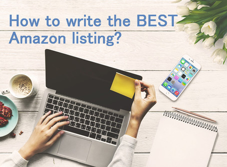 How to write the BEST Amazon listing?